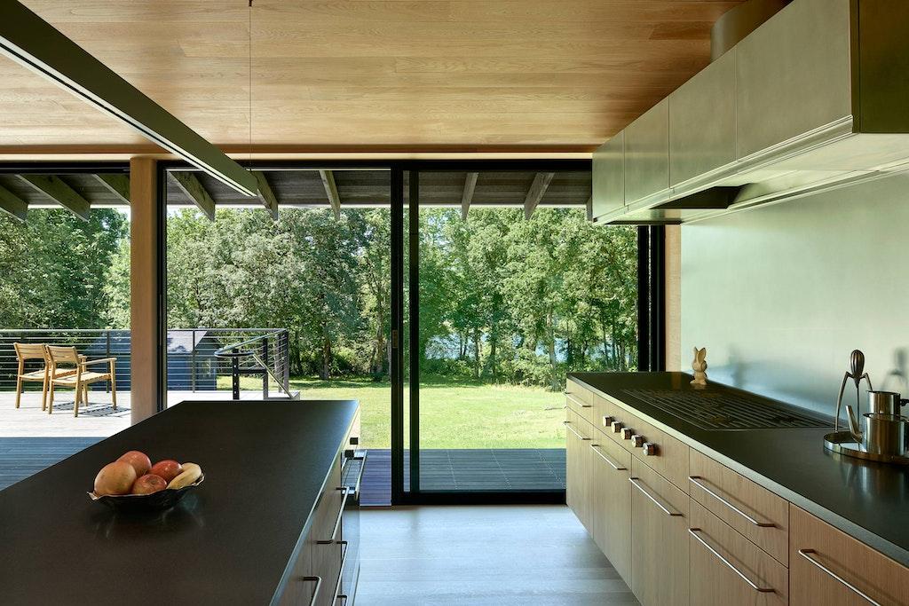 Divine House. Kitchen view