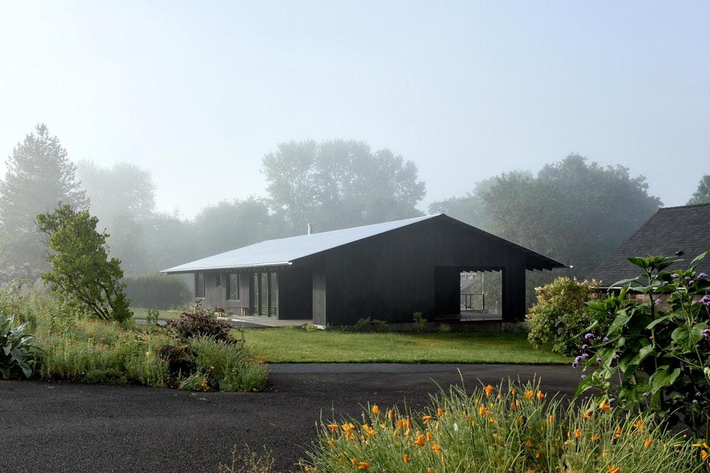 Divine House. West gable end