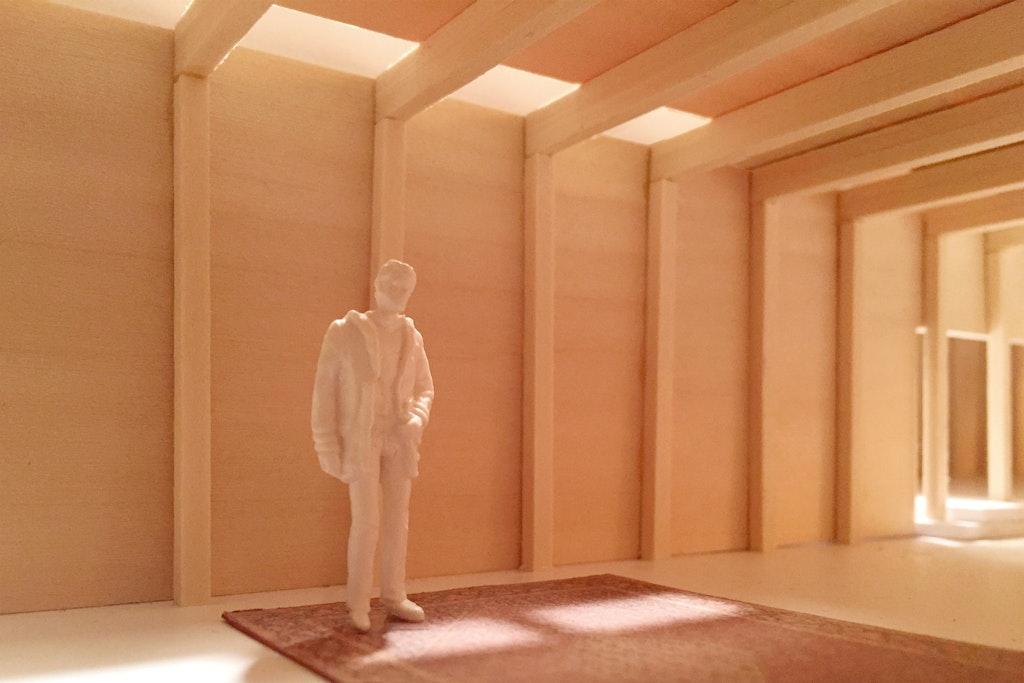 East Amazon Studio. Interior detail