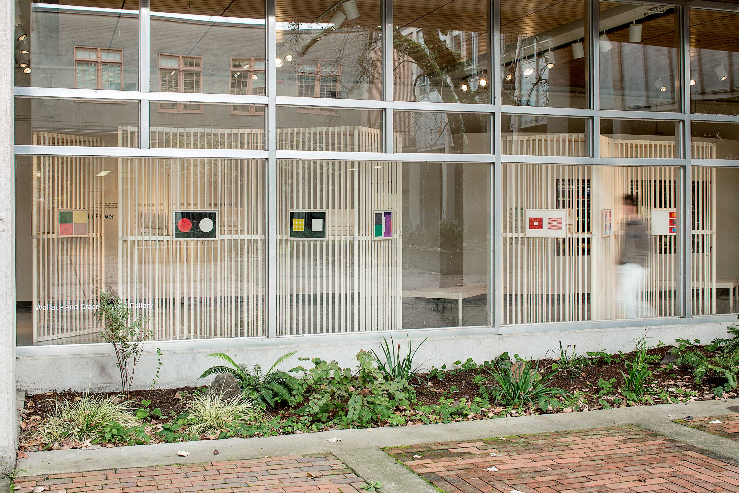Josef Albers Exhibition. Exterior view