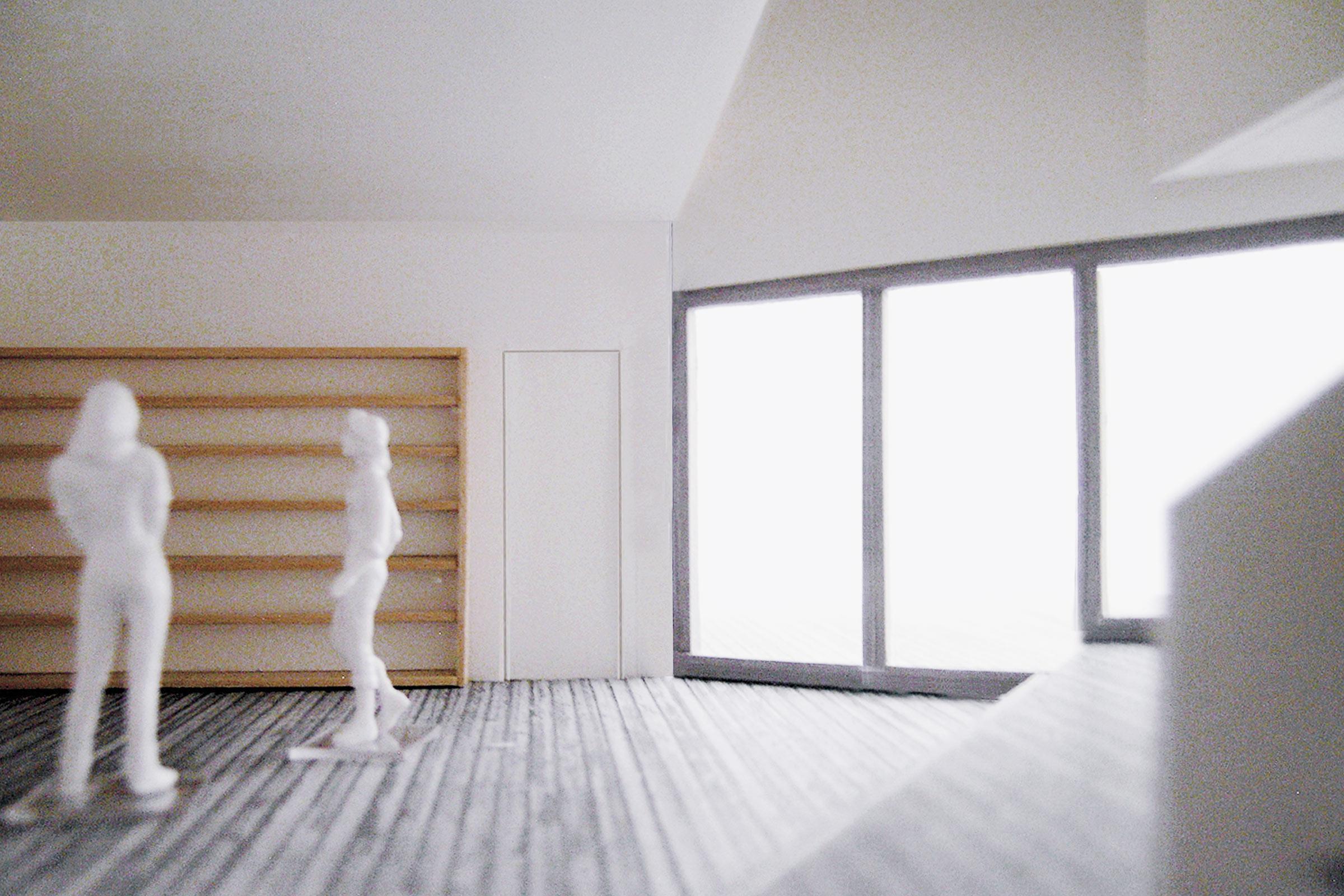 M House. Main living area