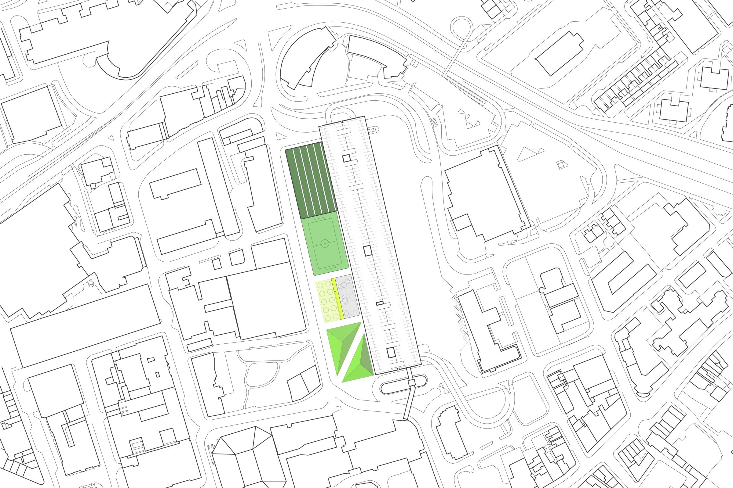Preston Bus Station. Site plan