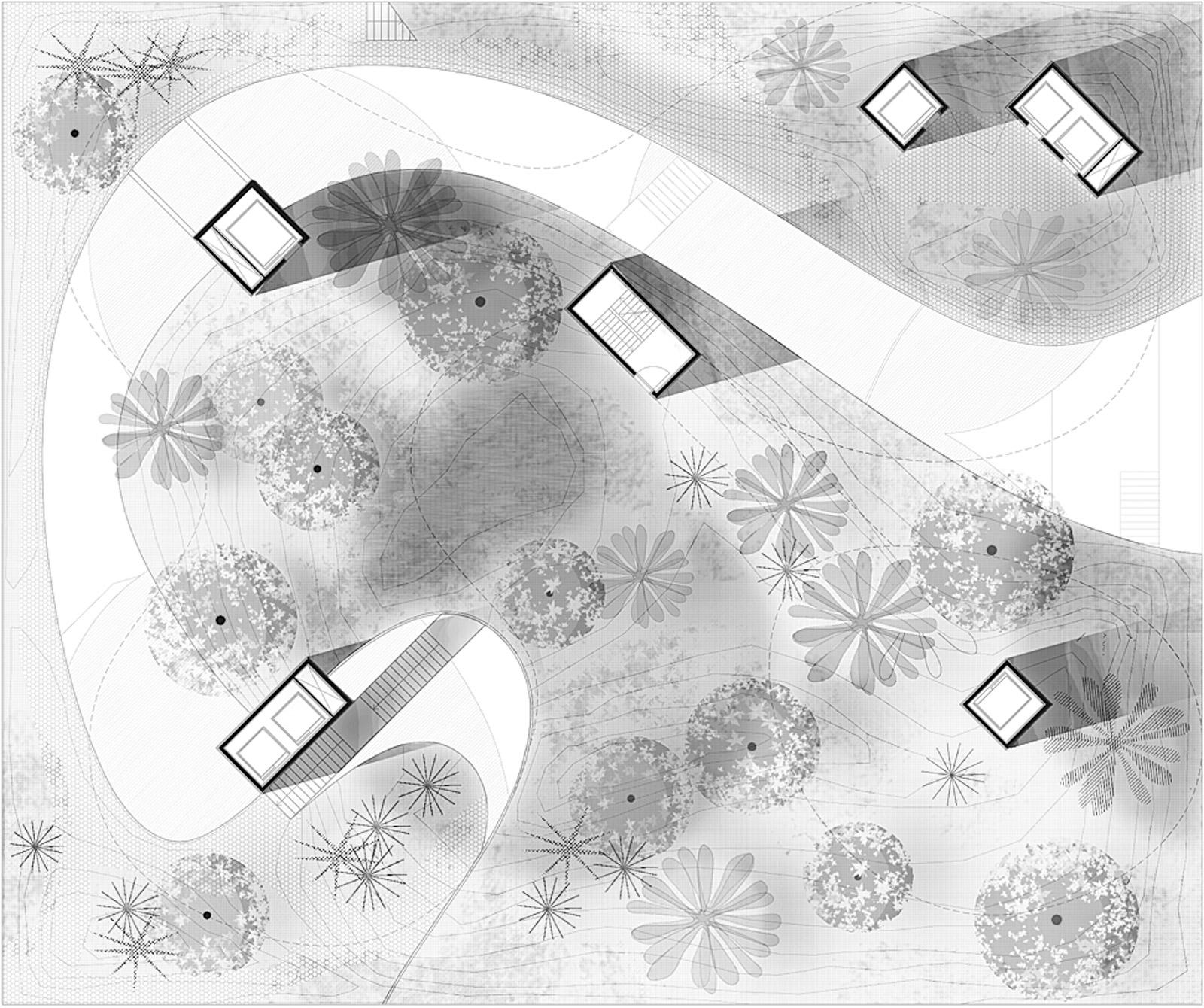 Vertical Zoo. Floor plan, level 7